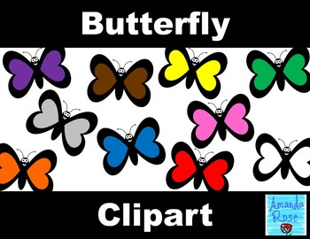 Butterfly Clip Art!