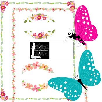 Butterfly Clipart & Borders
