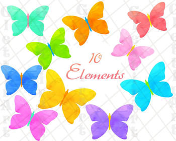 Butterfly Clipart, Butterflies Clipart for personal and commercial use