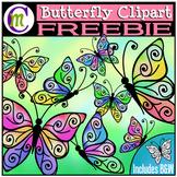 Butterfly Clipart FREEBIE