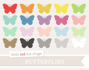 Butterfly Clipart; Insect