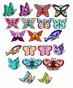 Butterfly Cliparts
