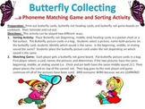 Butterfly Collecting - A phoneme isolating and matching game