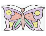 Butterfly Color by Sight Words