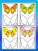 Butterflies Coloring Book and Clip Art