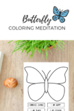 Butterfly Coloring Meditation