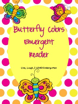 Butterfly Colors Emergent Reader-FREEBIE