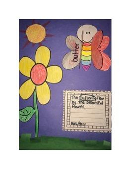 Butterfly Compound Words Craftivity