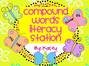 Compound Words Literacy Station
