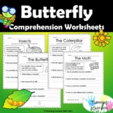 Butterfly Comprehension Worksheet