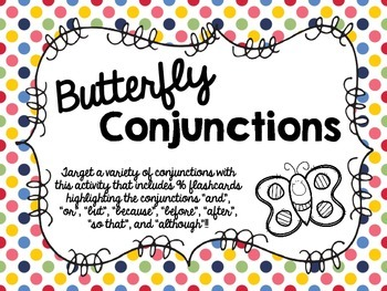 Butterfly Conjunctions