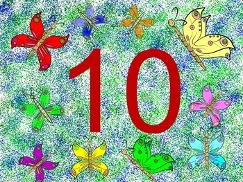 Butterflies: Counting and Cardinal Numbers