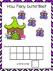 Butterfly Counting Mats 1-10 & Emergent Reader Fairies In The Garden