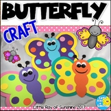 Butterfly Craft for Spring