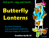 Butterfly Craft  ::  Butterfly Life Cycle