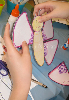 Butterfly Craft Template PDF