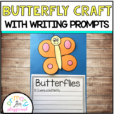 Butterfly Craft With Writing Prompts/Pages