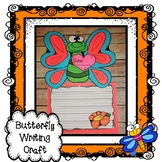Butterfly Craft and Writing Activity, Spring Craft