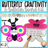 Butterfly Craftivity for MOTHERS' DAY, VALENTINE'S DAY, AND MORE!