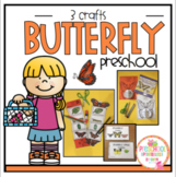 Butterfly Crafts Sequencing and Number Books