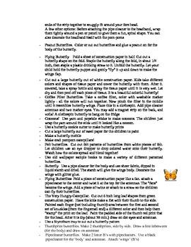 Butterfly Curriculum Ideas!
