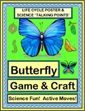 """""""Butterfly Dance!"""" - Active Science with a Game and Craft"""