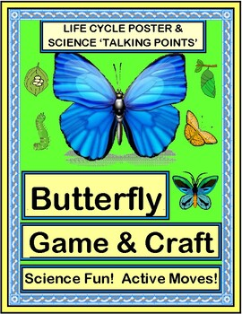"""Butterfly Dance!"" - Active Science with a Game and Craft"