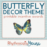 Butterfly Decor Theme - incentive awards