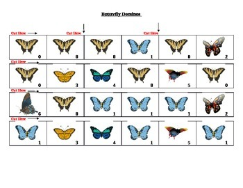 Butterfly Dominos Game
