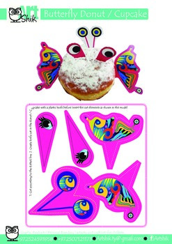 Butterfly  Donuts & Cupcake Decoration and fun activity