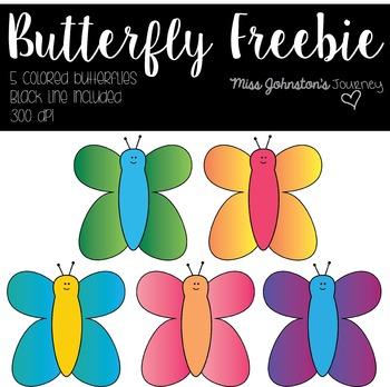 Butterfly FREEBIE Clipart