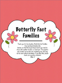 Butterfly Fact Families