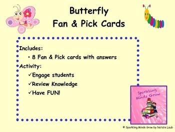 Butterfly Fan & Pick Cards