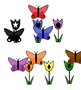 Preschool Butterfly Color & Shape Matching