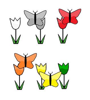 Preschool Butterfly Color & Shape Matching