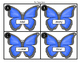 Butterfly Find and Write the Room Sight Words