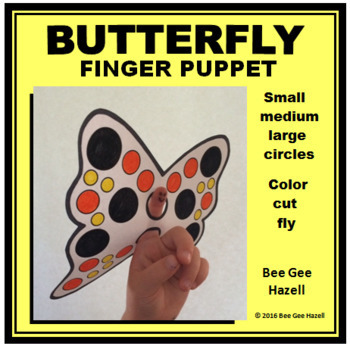 Butterfly Finger Puppet (Spring Craft)