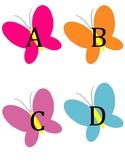 Butterfly Alphabet Flashcards