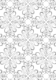 Butterfly Flower Pattern Printable Spring Colouring Page