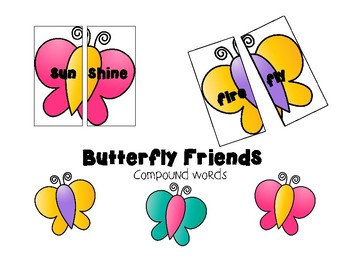 Butterfly Friends Compound words