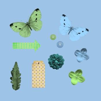 Butterfly Garden Mini Kit Freebie