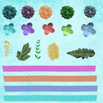 Butterfly Garden Scrapbook Kit