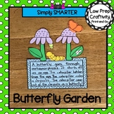 Butterfly Garden Writing Cut and Paste Craftivity