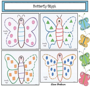 Butterfly Activities: Listening & Following Directions Butterfly Glyph