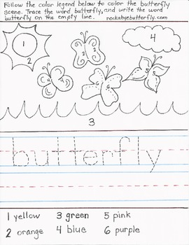 Butterfly Hand-Drawn Printables