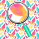 Butterfly Handpainted Watercolor Digital Paper / Backgrounds Clip Art Set
