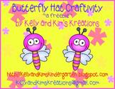 Butterfly Hat Craftivity ~a freebie~