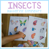 Butterfly Insect Bug - Symmetry Matching Sorting - Busy Book Binder