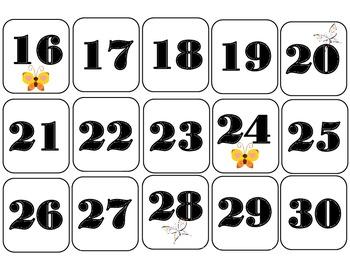 Butterfly Calendar! Butterfly Bulletin Board! Butterfly Theme Classroom Decor!