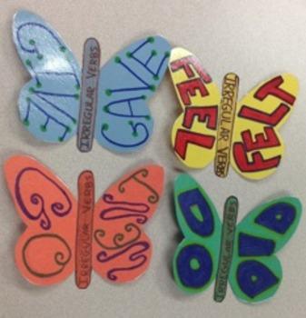 Butterfly Irregular Verbs!